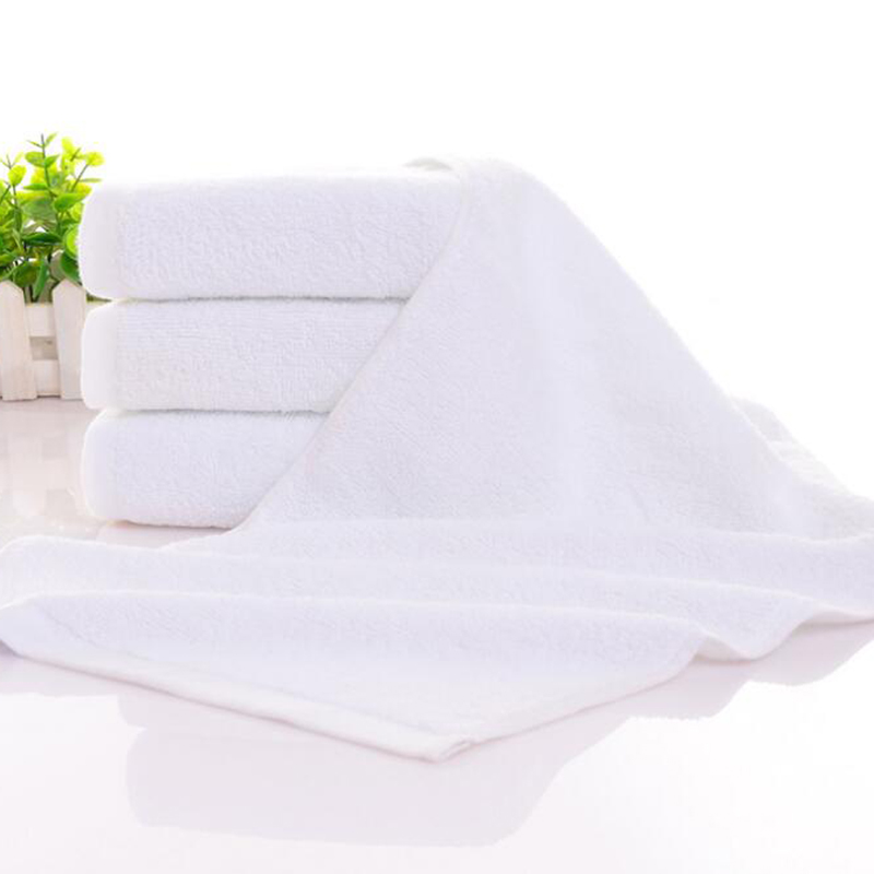21S Double Yarn Plain Wave Cotton Hand Towel 150pcs pack