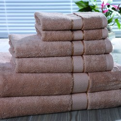 Star Hotel 16S Cotton Yarn Dyed Dobby Jacquard Hand Towel 15pcs pack