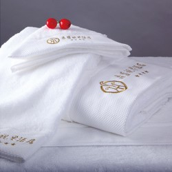 JOSHUA Luxury Cotton Platinum Satin Towel Sets