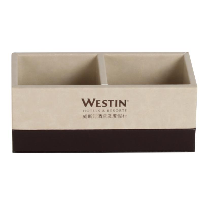 PU Leather Tea Coffee Box 48pcs pack