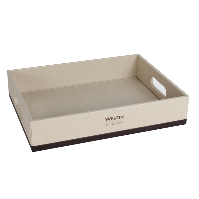 Shoes Tray Hotel Pu Leathers Petop Hotel Supply