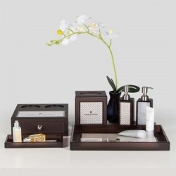 Service Directory Leather Set Series Brown