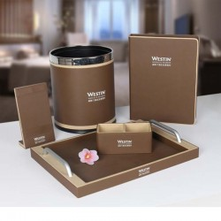 Star Hotel High Class Coffee PU Leather Set