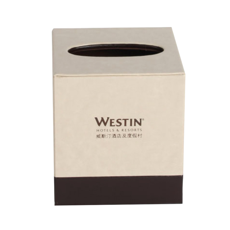 PU Leather Square Tissue Box 30pcs pack