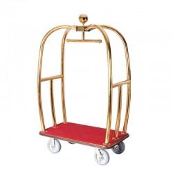 Large Titanium Apple Lobby Luggage Cart 1pc pack