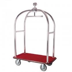 Luxury Apple Stainless Steel Luggage Cart