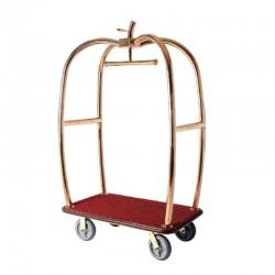Luxury Titanium Apple Luggage Cart 1pc pack