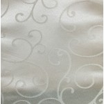 Budget Jacquard flower Restaurant Tablecloth