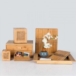 Star Hotel Natural Wood Guestroom Amenities Set Series