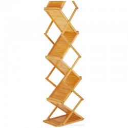 Bamboo Wooden Magazine Rack