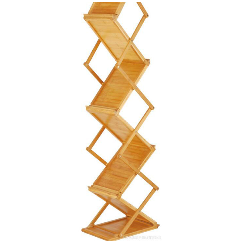 Bamboo Wooden Magazine Rack (2)
