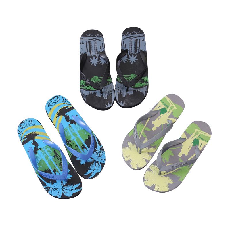 Plastic Slippers Beach Flip Flops 50pairs pack