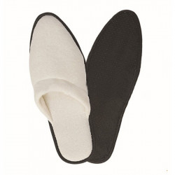 Arrow Terry Fabric Slipper with Dotted Cloth Soler 100pairs pack