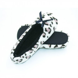 Coral Fleece Closed Toe Velvet Slipper