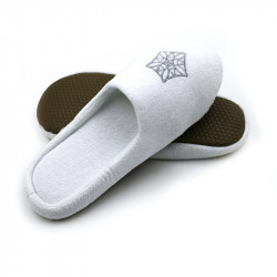 Cotton Velvet Fabric Slippers 100 pairs pack