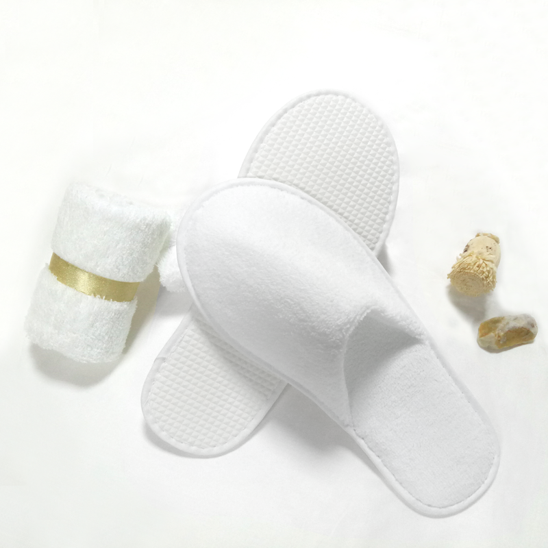 Washable Coral Velvet Hotel Slippers IXPE Sole 100pairs pack