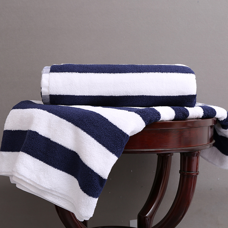 21s 100 Percent Cotton Terry Beach Towel 40pcs pack
