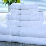 16S Dobby Sateen Combed Ctton Hand Towels 150pcs pack