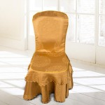 European Classic Jacquard Hotel Chair Cover