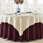 Natural Linen Table Cloth