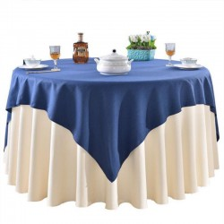 Bright Satin Hotel Table Cloth