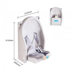 Folding Baby Safety Seat 1pc pack