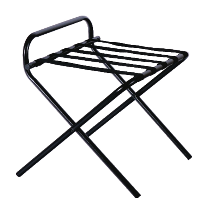 Steel Folding Luggage Rack with Back Rest Bar 12pcs pack
