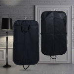 Splash-resistant black Oxford cloth folding suit dust cover hanging clothes bag popular household clothing packaging storage handbags
