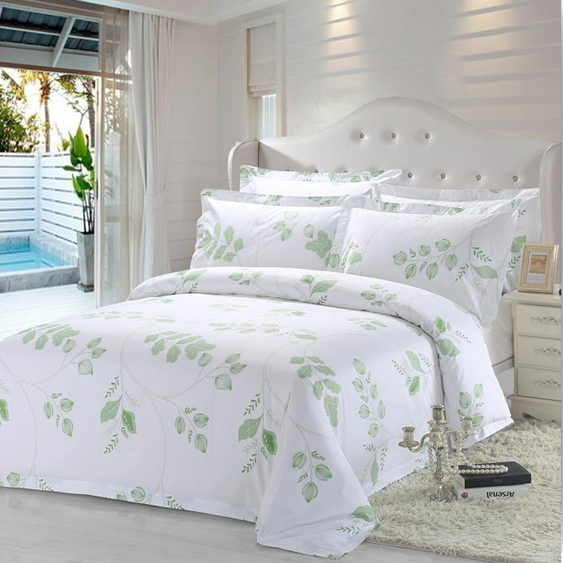 JOSHUA Quality 100 Percent Cotton Hotel Bedding Sets with Printed